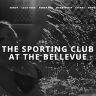 The Sporting Club at The Bellevue