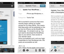 Update Your WordPress Blog with a Smartphone